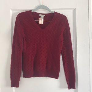 Tweeds 100% Cashmere Sweater